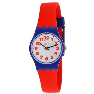 Swatch WASWOLA Silicone Unisex Watch LS116