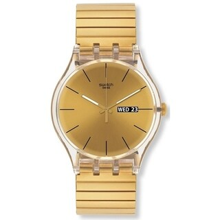 Swatch DAZZLING LIGHT Unisex Watch SUOK702A
