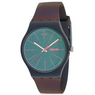 Link to Swatch NEW GENTLEMAN Silicone Mens Watch SUON708 Similar Items in Men's Watches
