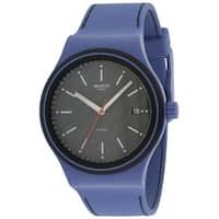 Swatch SISTEM AQUA Silicone Automatic Mens Watch