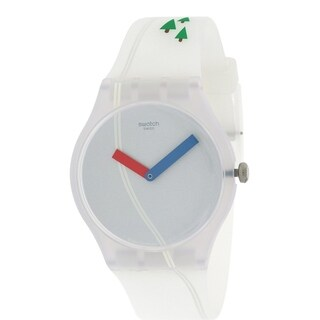 Swatch T'SCHUSS Silicone Unisex watch SUOW137