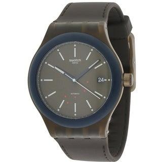 Swatch SISTEM FUDGE Silicone automatic Mens Watch SUTC401