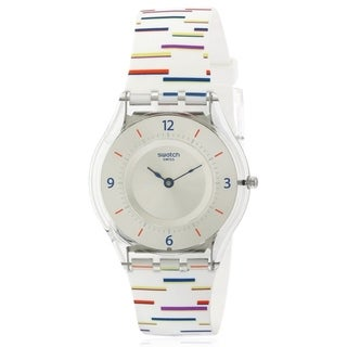 Swatch THIN LINER Silicone Unisex watch SFE108