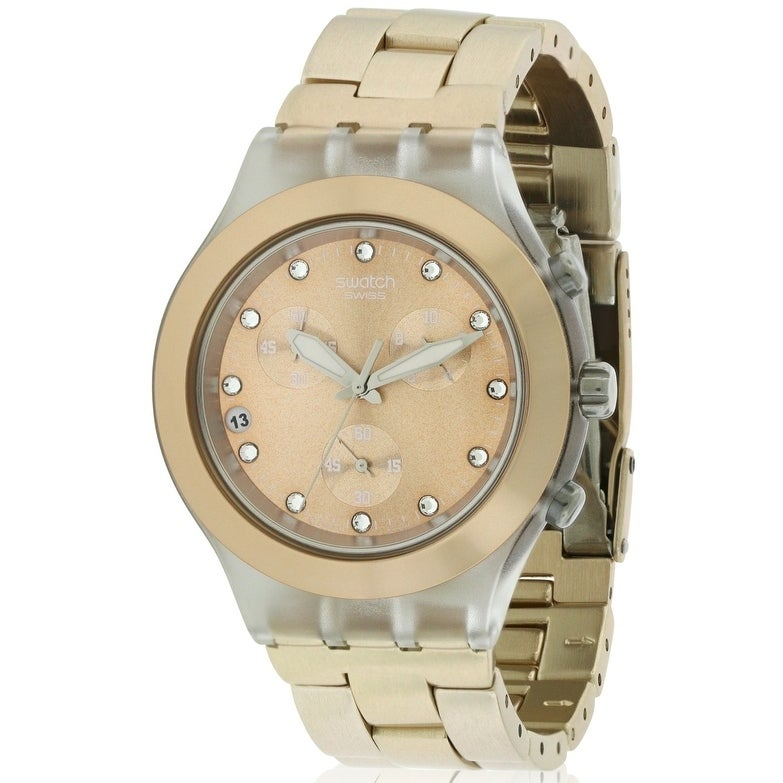 Swatch Full Blooded Brown Watch SVCK4047AG, Women's, Size...