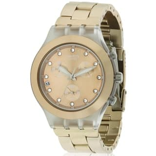 Swatch Full Blooded Brown Watch SVCK4047AG https://ak1.ostkcdn.com/images/products/17612412/P23828928.jpg?impolicy=medium