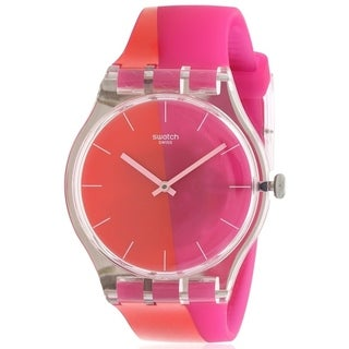 Swatch LAMPOONIA Silicone Ladies Watch