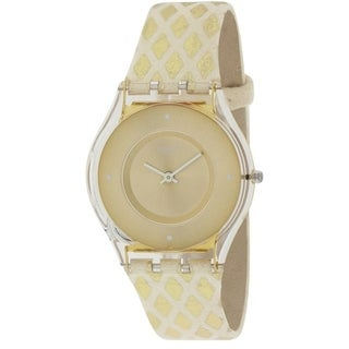 Swatch LOSANGELOR Leather Ladies Watch SFE103