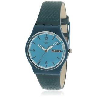 Swatch BLUE BOTTLE Unisex Watch GN719