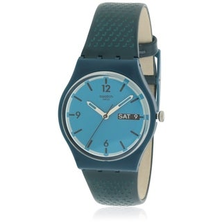 Swatch BLUE BOTTLE Unisex Watch GN719