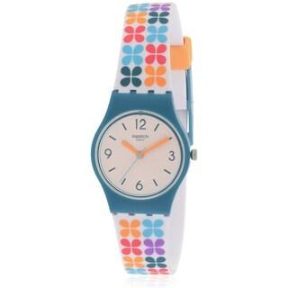 Swatch Paseo De Gracia Silicone Ladies Watch LN151