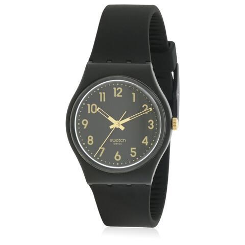 Swatch Golden Tac Ladies Watch GB274