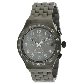 Swatch DESTINATION SOHO Stainless Steel Chronograph Mens Watch YVM402G