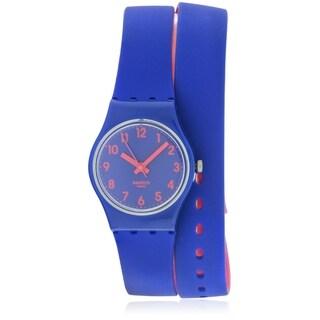Swatch Biko Bloo Ladies Watch LS115