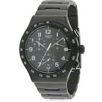 Swatch DESTINATION MANHATTAN Stainless Steel Chronograph Mens Watch