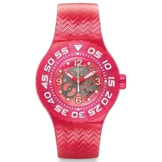 Swatch Deep Berry Ladies Watch SUUP100