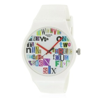 Swatch MULTI COLLAGE Unisex Watch SUOW132