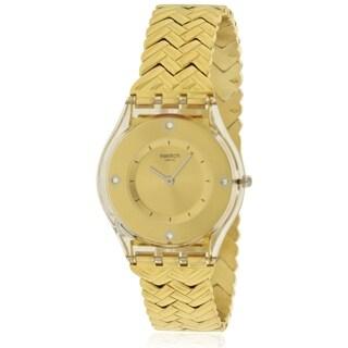 Swatch GOLDEN STREET Unisex Watch SFE106G