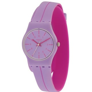 Swatch SEGUE A LINHA Silicone Ladies Watch LV118