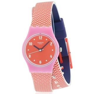 Swatch PAREO Silicone Ladies Watch