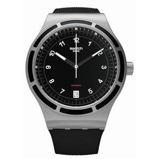 Swatch SISTEM DARK Automatic Unisex Watch YIS413