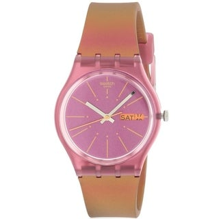 Swatch SNEAKY PEAKY Silicone Ladies Watch GP701