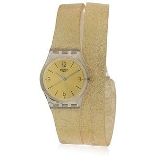 Swatch Goldendescent Ladies Watch LK351C