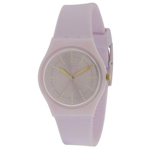 Swatch GUIMAUVE Silicone Unisex Watch GP148