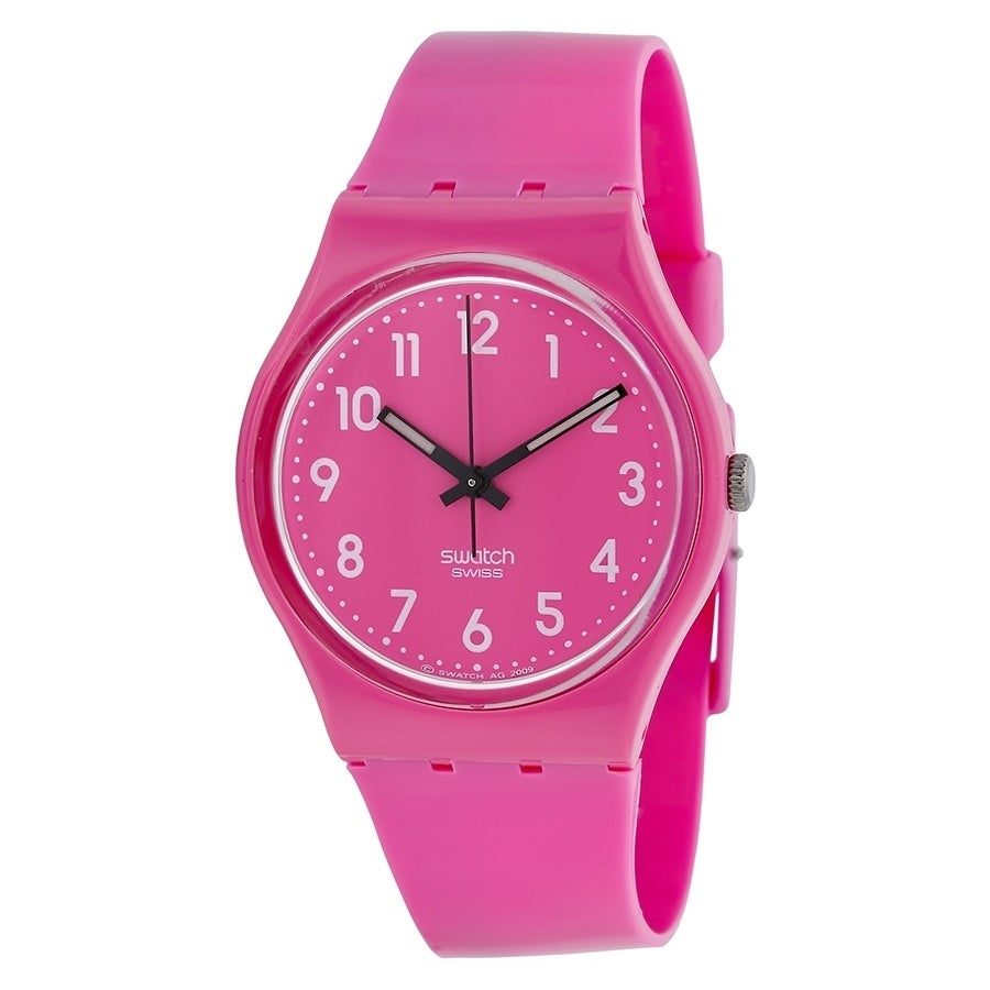 Swatch Dragon Fruit Ladies Watch GP128, Pink, Size One Si...
