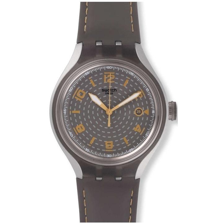 Swatch GO Smokey Mens Watch YES4007, Grey, Size One Size ...
