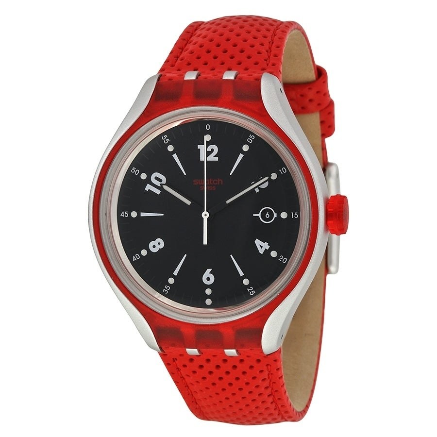 Swatch Go Jump Mens Watch YES4001, Black, Size One Size F...