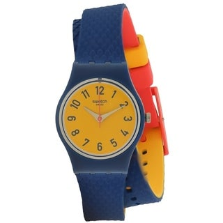 Swatch CHECK ME OUT Silicone Unisex Watch LN150
