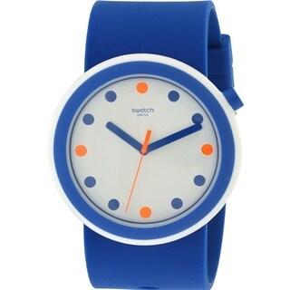 Swatch POPINESS Silicone Unisex Watch PNW103