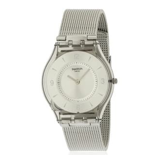 Swatch METAL KNIT Ladies Watch SFM118M|https://ak1.ostkcdn.com/images/products/17612632/P23829032.jpg?impolicy=medium