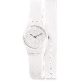 Swatch SANGALLO Silicone Ladies Watch LW147
