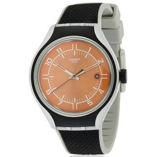 Swatch GO JOG Silicone Mens Watch