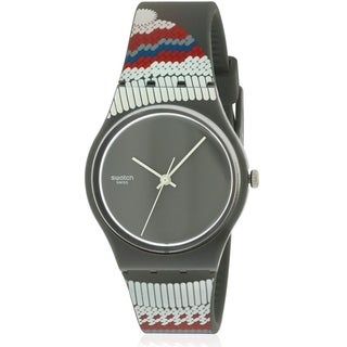 Swatch GORNERGRAT Silicone Mens Watch GM183