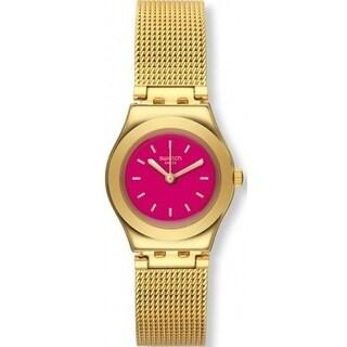 Swatch TWIN PINK Ladies Watch YSG142M