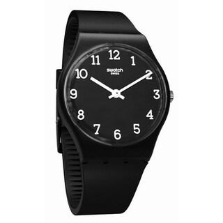 Swatch BLACKWAY Unisex Watch GB301