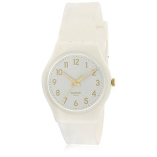 Swatch White Bishop Ladies Watch GW164
