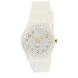 Swatch White Bishop Ladies Watch GW164|https://ak1.ostkcdn.com/images/products/17612695/P23829055.jpg?_ostk_perf_=percv&impolicy=medium