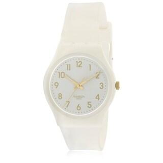 Swatch White Bishop Ladies Watch GW164