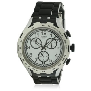 Swatch BLACK ATTACK Unisex Watch YYS4020AG