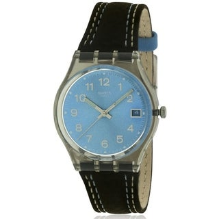 Swatch Blue Choco Ladies Watch GM415
