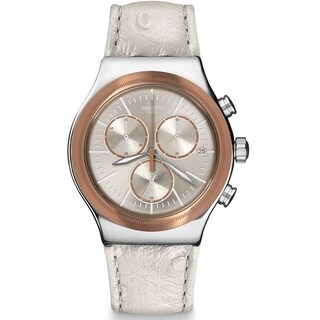 Swatch ALBINOSTRICH Ladies Watch YVS412