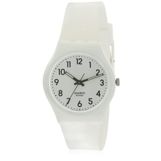 Link to Swatch JUST WHITE SOFT Unisex Watch GW151O Similar Items in Women's Watches