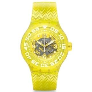 Swatch Lemon Profond Unisex Watch SUUJ101