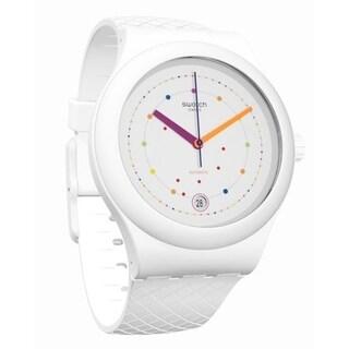 Swatch SISTEM POLKA Silicone Unisex Watch SUTW403