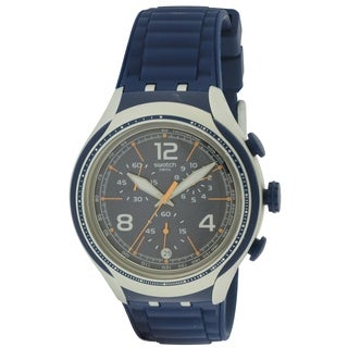 Swatch BLUE FACE Mens Watch YYS4015