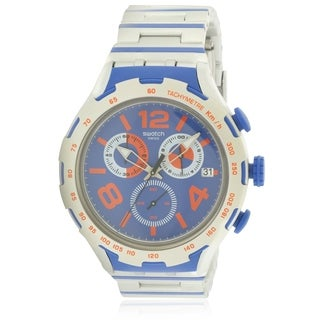 Swatch CHEMICAL BLUE Mens Watch YYS4011AG