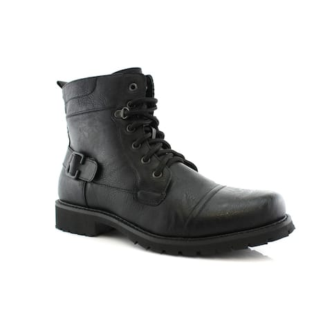 Polar Fox Fabian MPX808006 Mens Combat Boots For Work or Casual Wear